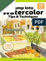 SBS Watercolor eBook