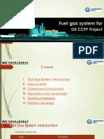Training Fuel Gas System