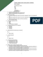 Cuestionarios Constitución