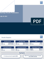 2019 q2 Earnings Results Presentation