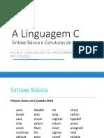 A Linguagem C - Sintaxe Basica.pptx