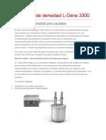 Sensores de Densidad L