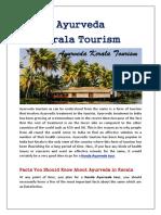 All About Ayurveda Kerala Tourism