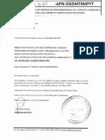 Acta Acuerdo y Bono Indumentaria 2018 2da Etapa