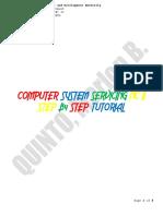 COC 3 - Setup Computer Servers Tutorial