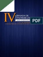 IV Jornada de Etnomusicologia - ANAIS Versão Final