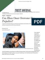 Can Ilhan Omar Overcome Her Prejudice_ - WSJ
