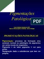 pigmentação  patol