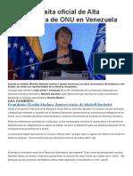 Concluye visita oficial de Alta Comisionada de ONU en Venezuela.docx