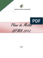 Plano Metas 2012