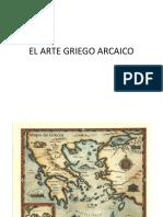 El Arte Griego Arcaico