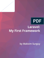 Laravel First Framework