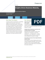 The State of Insights Driven Business Maturity 2019