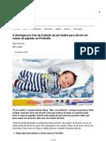 A Ideologia Por Trás Da Tradição de Pôr Bebês Para Dormir Em Caixas de Papelão Na Finlândia - BBC News Brasil