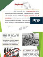 CLASE DE DISTRIBUCIÓN DE PLANTAS