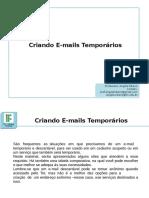 E-Mail Temporário