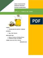 informe 4 aceites