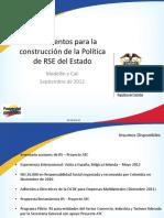 09 05 12 Presentacion Lineamientos RSE MCIT