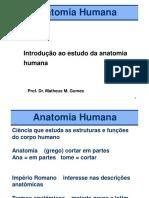 Aula 1 Introducao Anatomia