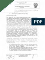 Plan de Reubicacion Poblacion Vendedores Informales
