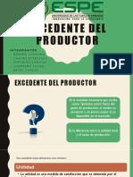 Excedente Del Productor