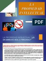 Propiedad Intelectual DERECHOS REALES 2 2017
