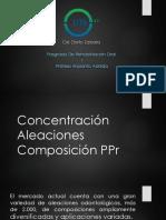 Conectores Menores protesis parcial removible