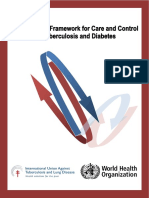 Collaborative Framework for Care and Control of Tuberculosis and Diabetes