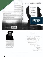 Psicogeografía. La Influencia de Los Lugares en La Mente y El Corazón. Colin Ellard 2015