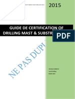 Drilling Mast and Subtructure Certificat