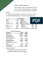 Taller Analisis de Estados Financieros
