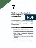 Técnicas de Determinación del Grupo Sanguíneo y Pruebas de Compatibilidad