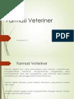 Farmasi Veteriner