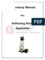 Softening Point Lab Manual