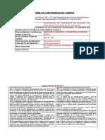 Informe de Conformidad Bienes 2019