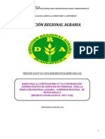 CAS N°03- DIRECCION REGIONAL AGRARIA.