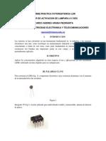 104133380 Informe Practica Fotoresitencia Ldr