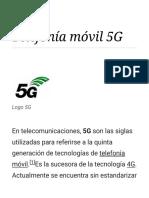 Telefonía móvil 5G - Wikipedia, la enciclopedia libre.PDF