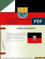Celebración Batalla Cúcuta