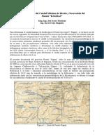 Estudio Hidrológico y de Socavación Ragraj