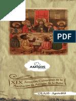 Jornadas Culturales Amigos de La Peña 2019