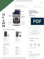 Osciloscópio E Multímetro Digital Mustool Mt8206 (upd 2018) -