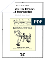 Whitman, Walt - Franklin Evans, El Borracho [49794] (r1.0)