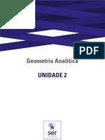 Guia de Estudos da Unidade 2 - Geometria Analítica