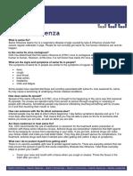 Swine Flu Factsheet # 01
