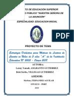 Proyecto de Investigacion IV Yam Sar