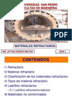 14. MATERIALES REFRACTARIOS