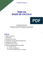 Bases de calculo Arquitectura
