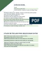 Excel Atajos