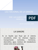 USO RACIONAL DE LA SANGRE.ppt
